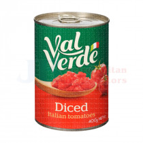400G VAL VERDE DICED TOMATOES