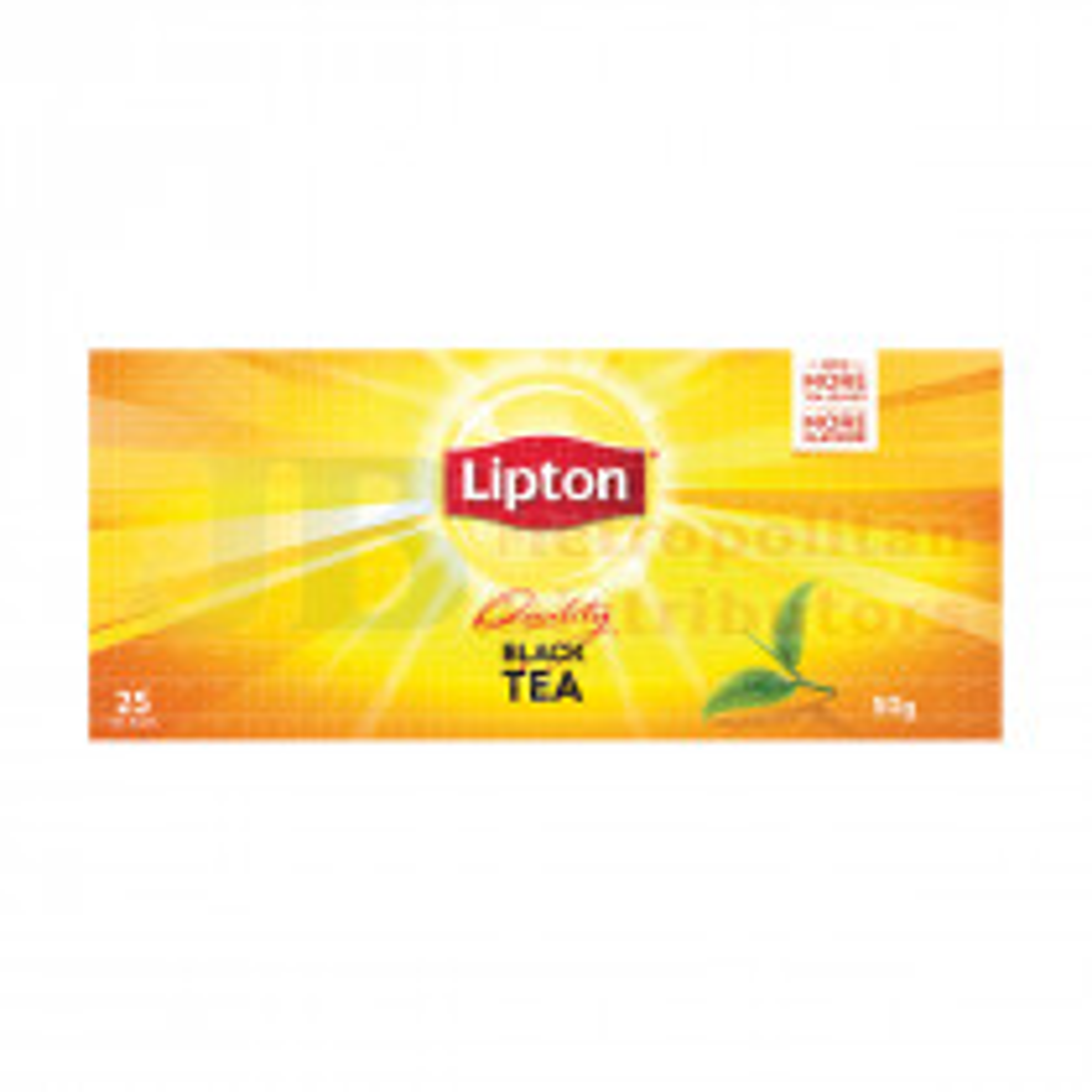 25PK LIPTON TEA BAGS BLACK