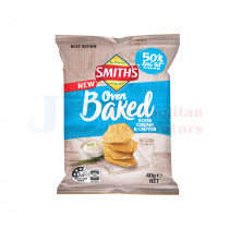 40G SMITHS OVEN BAKED SOUR CREAM & CHIVES