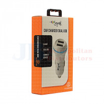 3.4A SYNK CAR CHARGER DUAL USB