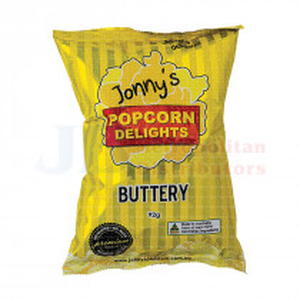 92G JONNY'S POPCORN BUTTERY