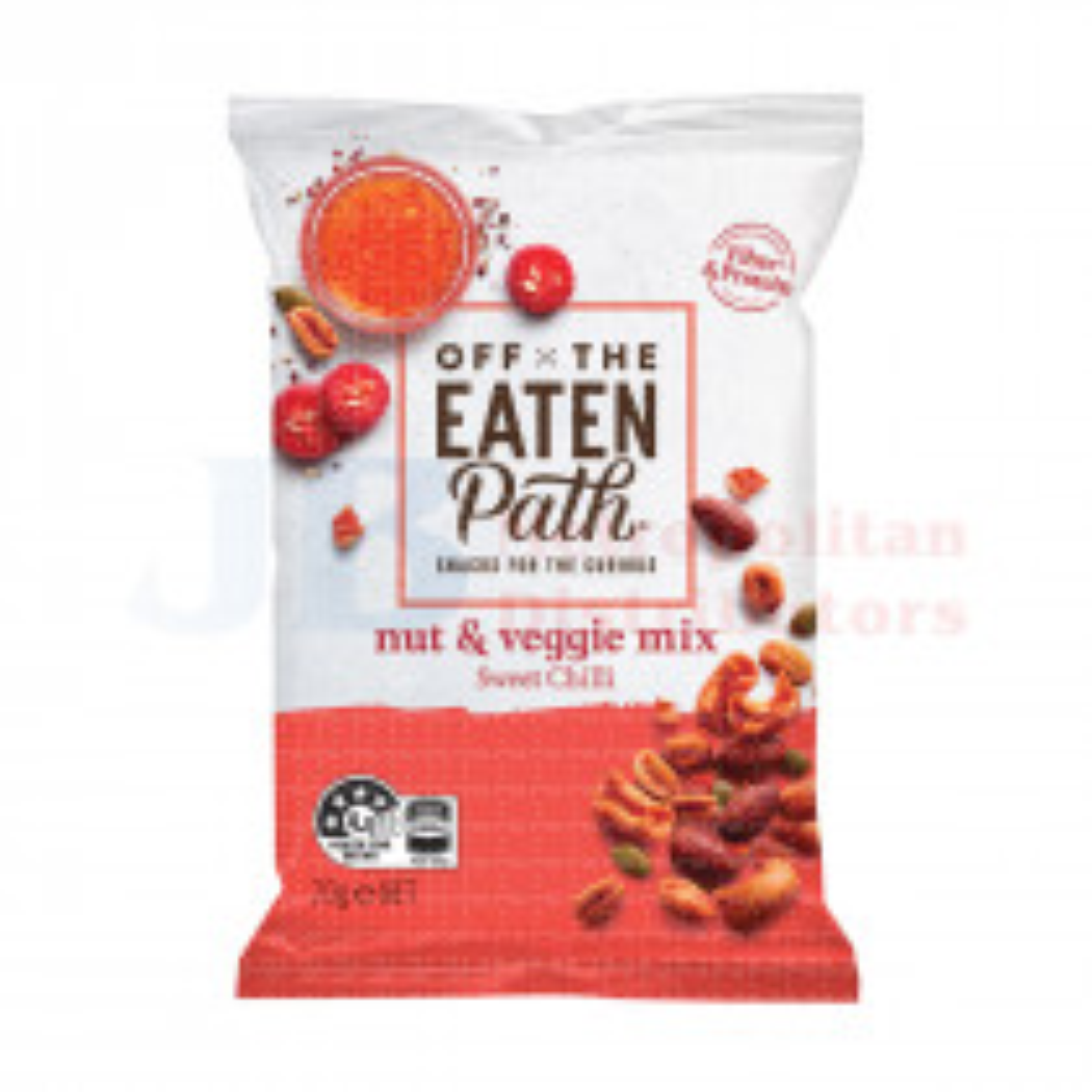 70G OFF THE EATEN PATH PEA & PINTO STICKS NUT & VEG CHILLI