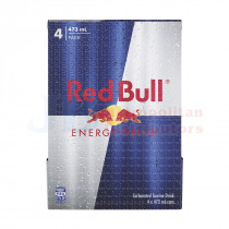 473ML 4PK RED BULL CANS