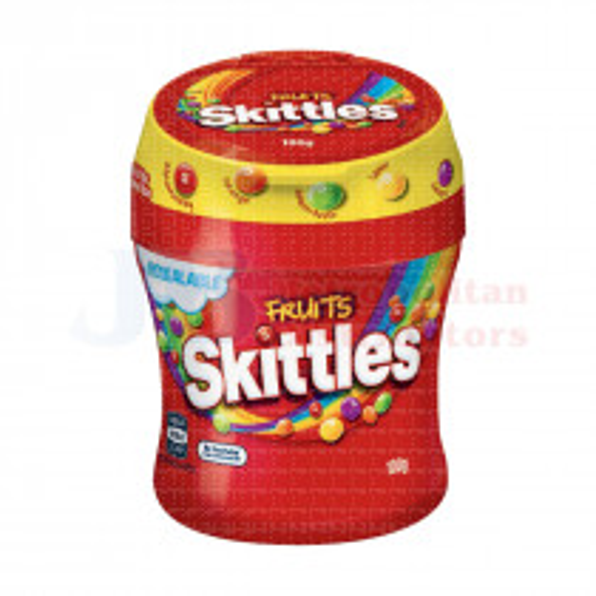 100G SKITTLES FRUIT BOTTLE
