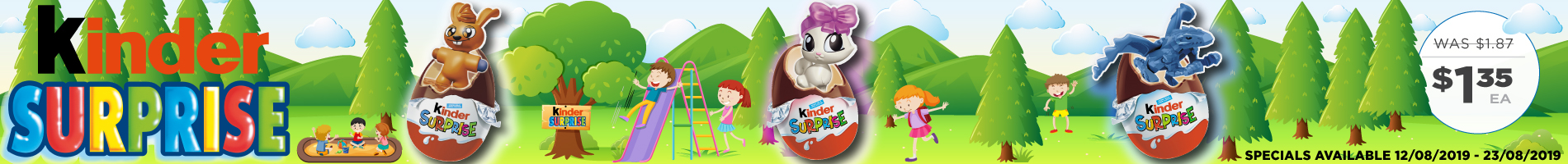 Click to Shop Kinder