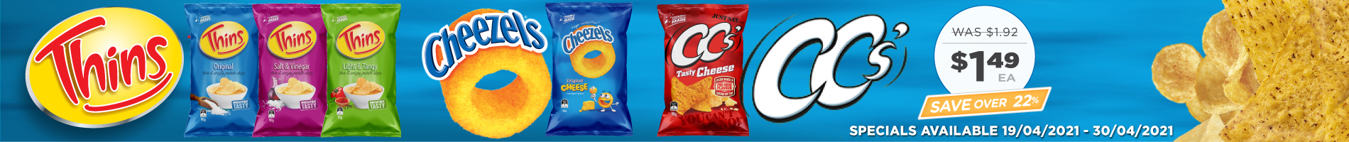 Click to Shop Snackbrands 90g