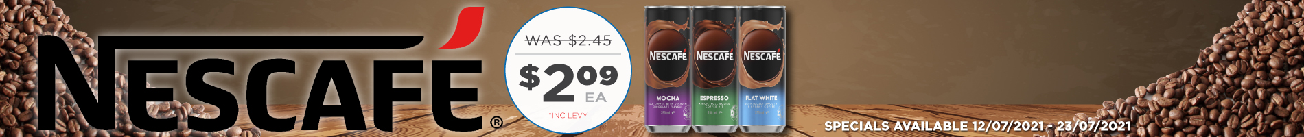 Click to Shop Nsecafe 250ml